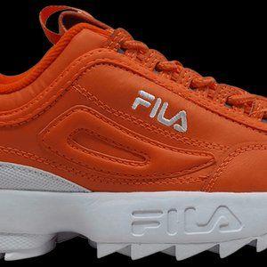 NWOT Fila Disruptor 2 Premium 'Orange Sneaker #285